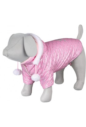 Trixie Küçük Köpek Paltosu XS 27cm Pembe