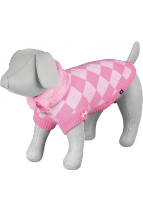 Trixie Küçük Köpek Kazağı XS 27cm Pembe