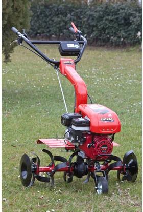 ANTRAC 200 Benzinli Çapa Makinesi (Şanzımanlı (2 ileri+1 geri vitesli) Honda motor GX 200-6,5 hp)