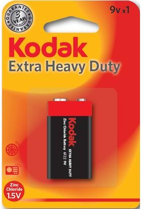 Kodak Blisterli Çinko Karbon 9 Volt Pil