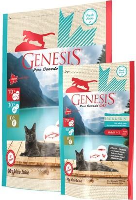 Genesis Pure Canada-My Blue Lake Hair Skin Deri Ve Tüye Özel Kuru Kedi Maması 2,26 Kg