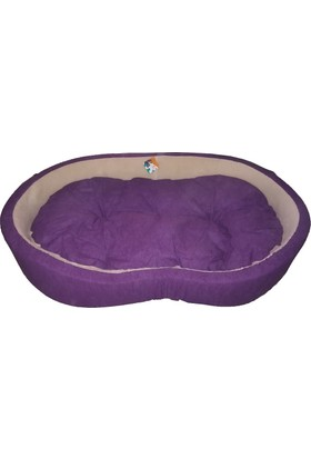 Ferplast Dandy 130 Kumaş Köpek Yatağı 130 X 80 X 25 Cm Mor