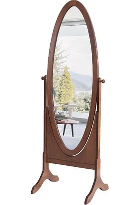 Mobilya Şöleni Buse Boy Aynası - Ceviz