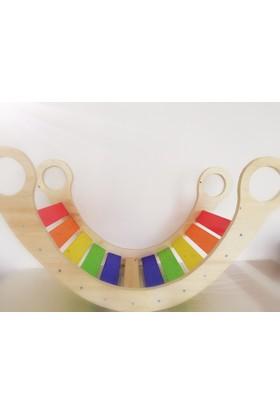 Oyuncak Ağacı Rainbow Ahşap Gondol Salıncak