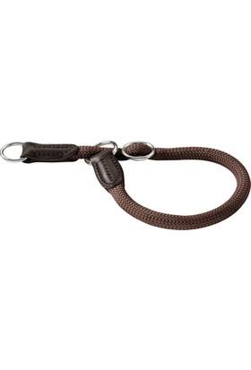 Hunter Freestyle Boğma Eğitim Tasması 10 Mm X 45 Cm Kahverengi