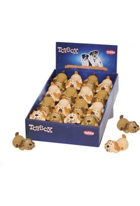 Nobby Köpek Figürü Sesli Latex Köpek Oyuncağı 8,5 Cm