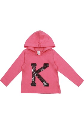 Kanz Kız Çocuk Kapşonlu Sweatshirt