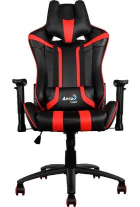 Aerocool AC120BR Siyah/Kırmızı Hava Delikli Profesyonel Oyuncu Koltuğu (AE-AC120BR-AIR)