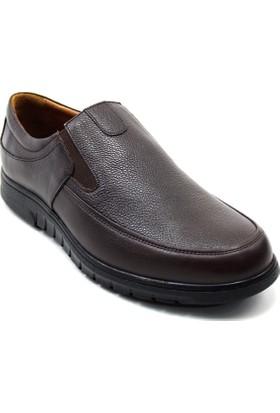 Bemsa 5018 Erkek Termo Comfort Ayakkabı Kahverengi