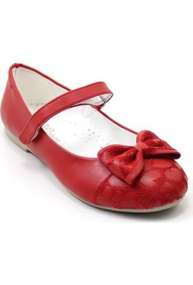 Mini Women 203 Kız Çocuk Balerin Babet Kırmızı