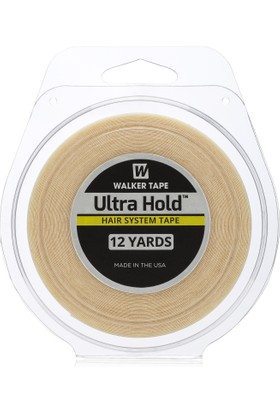 "Walker Tape 1"" X 12 Yds Ultra Hold Tape Roll Protez Saç Bandı"