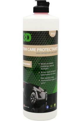 3D Trim Care Protectant&Lastik Plastik Koruyucu 500 ml. 711OZ16