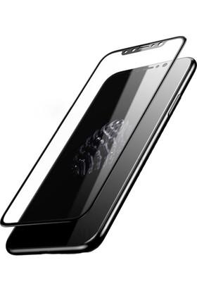 Kapakevi Apple iPhone X 5D Nano Ekran Koruyucu Cam Kenarları Tam Kaplayan Kavisli