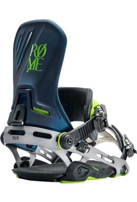 Rome D.O.D Blue Metal Snowboard Bağlaması