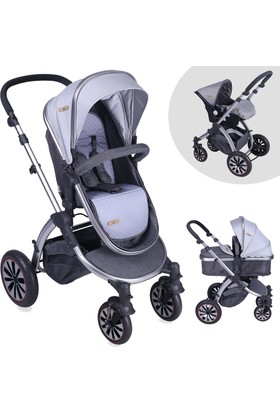 Lorelli Aurora Grey Car Travel Sistem Bebek Arabası
