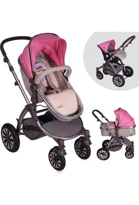 Lorelli Aurora Rose Beige Travel Sistem Bebek Arabası