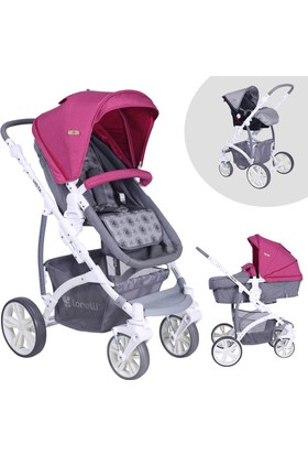 Lorelli Vista Rose Beige Travel Sistem Bebek Arabası