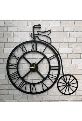 Dekoragel Rome Cycle Metal Duvar Saati