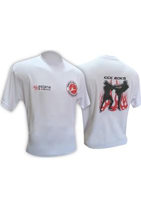 Astana Kick Boks Federasyon Logolu Tişört