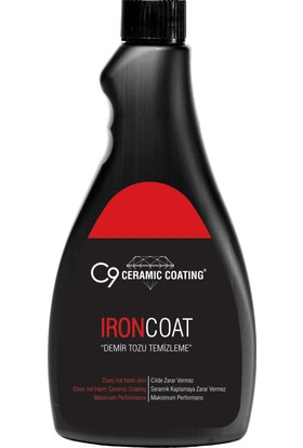 İron Coat - Demir Tozu Temizleme 500 ml