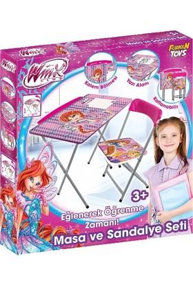 Disney Winx Çocuk Ders Çalışma Masası