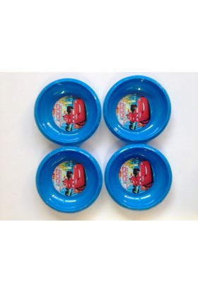 Disney Mcqueen Plastik Kase 4 Adet