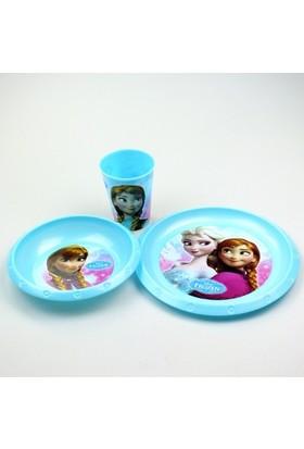 Disney Frozen Plastik 3'lü Set