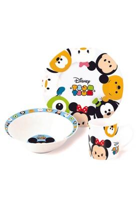 Disney Tsum Tsum Porselen 3'lü Beslenme Seti