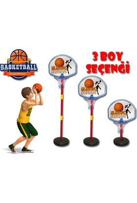 Akçiçek Ayarlanabilir Ayaklı Basketbol Potası