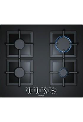 Siemens EP6A6PB20 iQ500 60 cm Kumandalı Sert Cam Gazlı Ocak Siyah