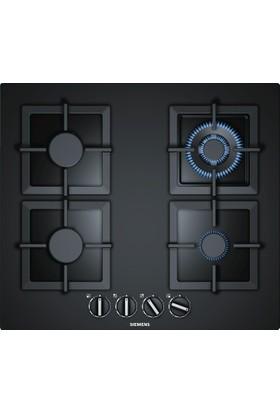Siemens EP6A6HB20 iQ500 60 cm Kumandalı Sert Cam Gazlı Ocak Siyah