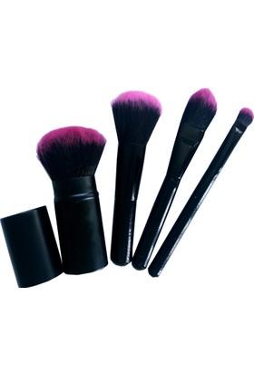 Fashion Beauty Makeup Allık Fırça Seti 4 Parça