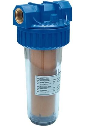 WaterGold Daire Girişi Reçine 10 inç Kireç Önleyici Sayaç Filtresi