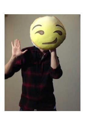 Hediye Mucidi Sıkılan Emoji Yastık
