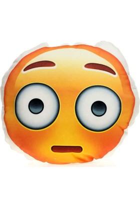 Hediye Mucidi Şaşkın Emoji Yastık