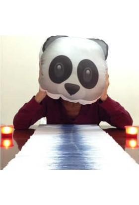 Hediye Mucidi Panda Emoji Yastık