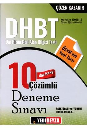 Dhbt Önlisans Çözümlü 10 Deneme Sınavı