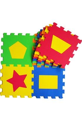 Akar Eva Puzzle Oyun Karosu 33X33cm 10Mm Geometrik Şekiller
