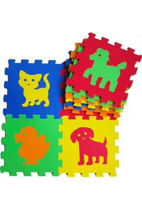 Akar Eva Puzzle Oyun Karosu 33X33cm 10Mm Hayvanlar