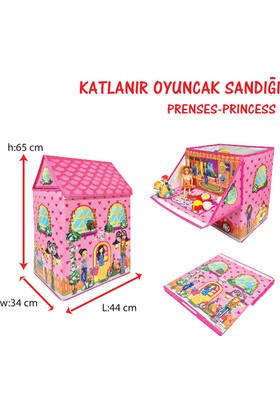 Akar Oyuncak Oyuncak Sandığı Prenses