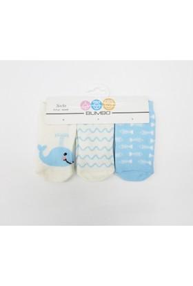 Baby By Bumbo Yunus 3'lü Bebek Çorap