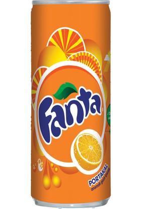 Coca Cola Fanta 200 ml Kutu 24 Adet