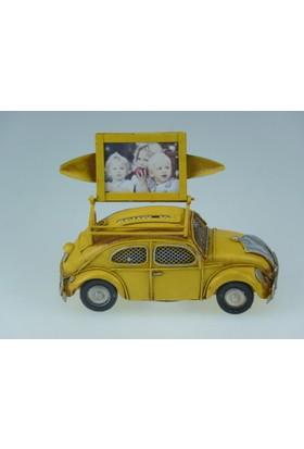 İkizler Kumpara&Resimlikli Araba A35 Sarı 15 Cm