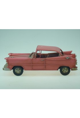 İkizler Klasik Araba 8119 Pembe 25 Cm