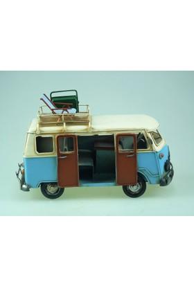 İkizler Minibüskaravana 5293 Mavi 28 Cm