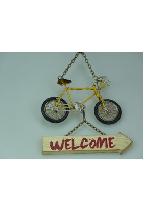 İkizler Welcome Bisiklet A30 Askı Sarı