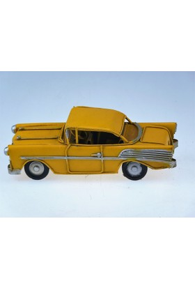 İkizler Klasik Araba 7565 Sarı 16,5 Cm
