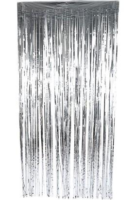 Elite Time Kapı Banner Simli 1X2 Mt Gümüş P1-200 - Ar1598G