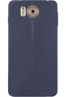 Case 4U Vestel Venüs V3 5580 Kılıf Taksim Silikon Case + Ekran Koruyucu Siyah