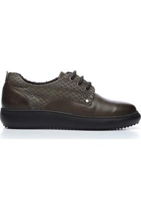 Kemal Tanca 165 72016 Kadın Ayakkabı Yeşil